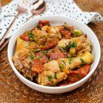 Portugese kip met wijn en port