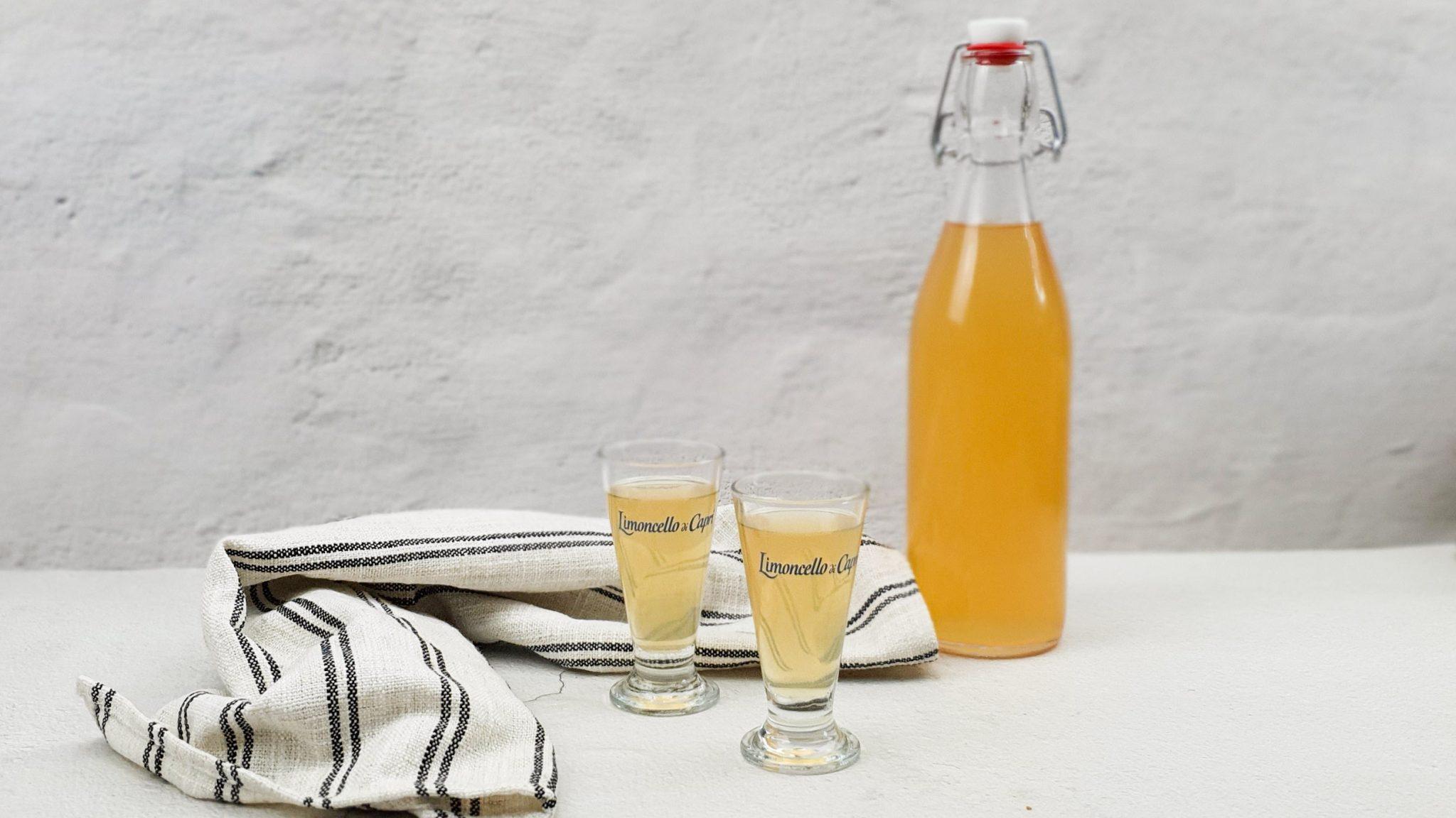 Rabarber limoncello