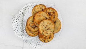 Chocolate chip cookies (American cookies)