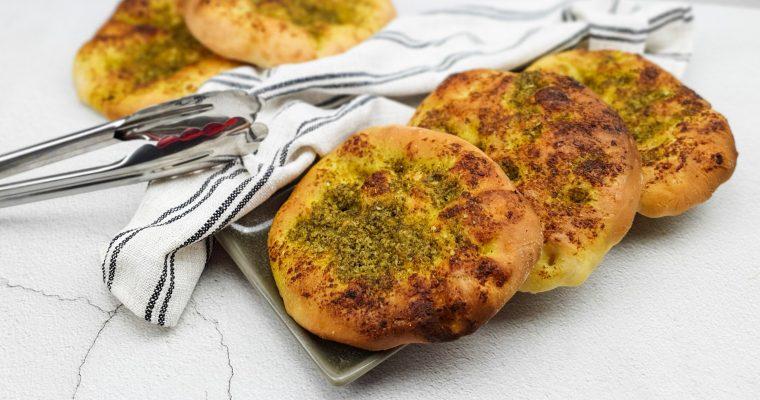 Pesto broodjes