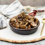 Gebakken champignons met knoflook en wijn