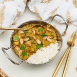 Bloemkool korma curry